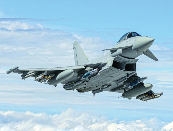 Eurofighter calendar feat
